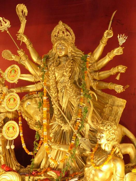 Goddess Durga Photograph by Karuna Ahluwalia