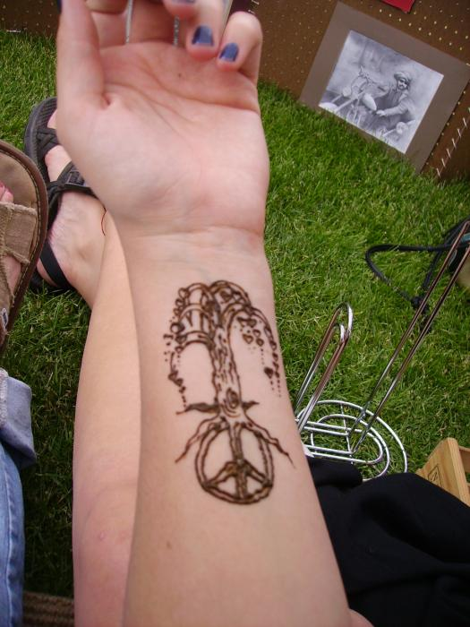 Peace symbol tattoos search results from Google